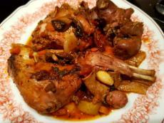 Задушено месо от заек