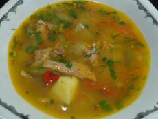 Агнешка или ярешка супа гювеч