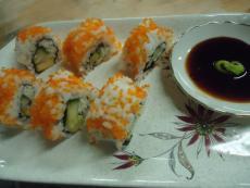 Обърнати ролки суши