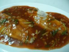 Барамунди със сладко кисел сос