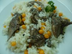 Костенурка с ориз