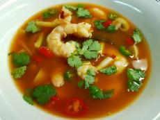 Ароматна супа със скариди