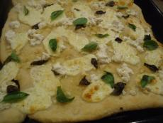 Бяла пица с чесън