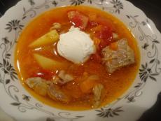 Агнешка супа шурпа
